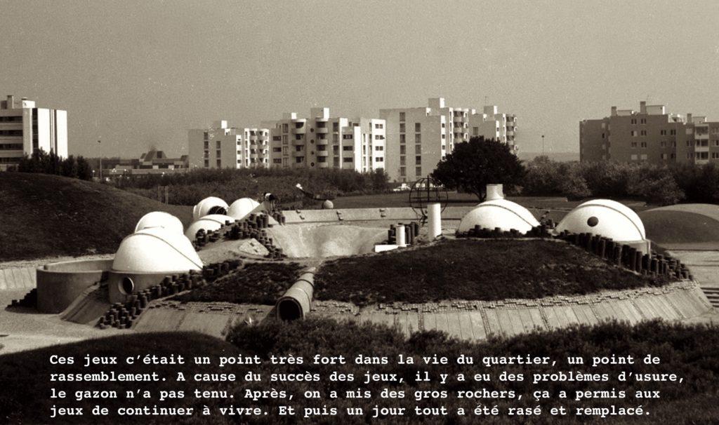 les bulles, elancourt, 1974-1986